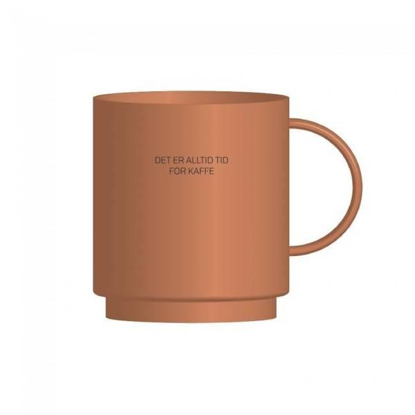 Bilde av Kopp - Det Er Alltid Tid For Kaffe, Gammelrosa
