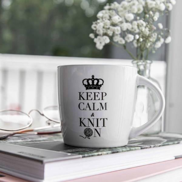 Bilde av Keep Calm & Knit On