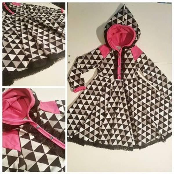 Bilde av Made By Runi, Raglan dress with a twist - Barn