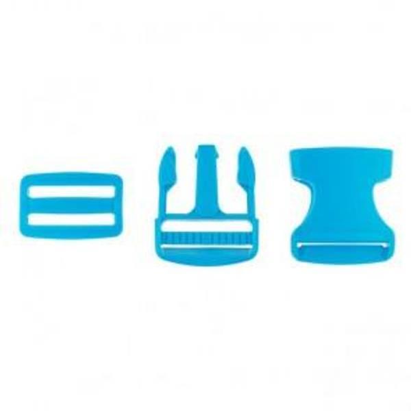 Bilde av Blå  - Spenne i plast
