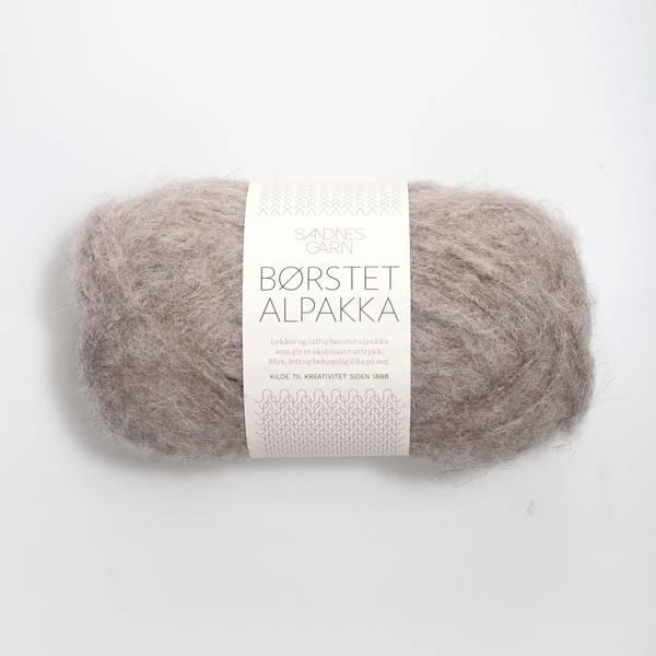 Bilde av Børstet Alpakka - 2650 Beigemelert