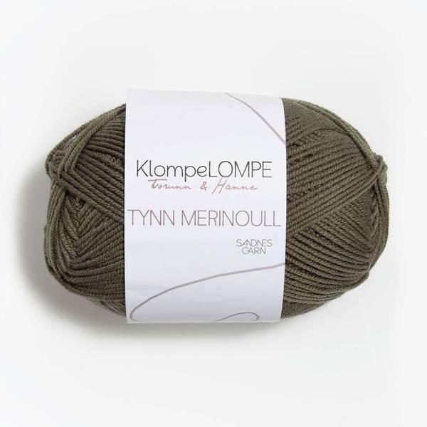 Bilde av KlompeLOMPE Tynn Merinoull - 9851 Lys Støva