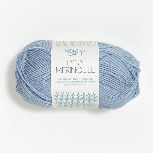 Bilde av Tynn Merinoull - 6531 Isblå - Utgått farge