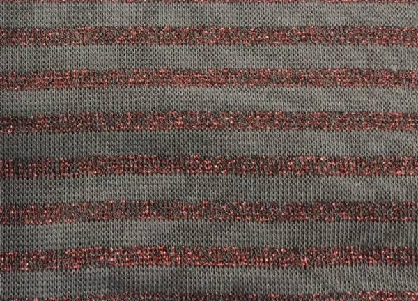 Bilde av 60 cm - Mørkegrå med rødt glitter - Ribb