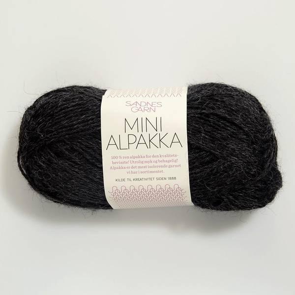 Bilde av Mini Alpakka - 1088 Koksmelert