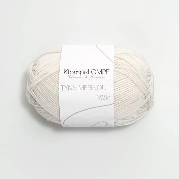 Bilde av KlompeLOMPE Tynn Merinoull - 1013 Kitt