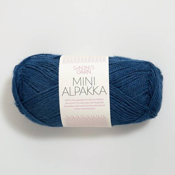 Bilde av Mini Alpakka - 6063 Inkblå