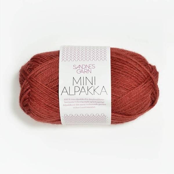 Bilde av Mini Alpakka - 4035 Mørk Terrakotta