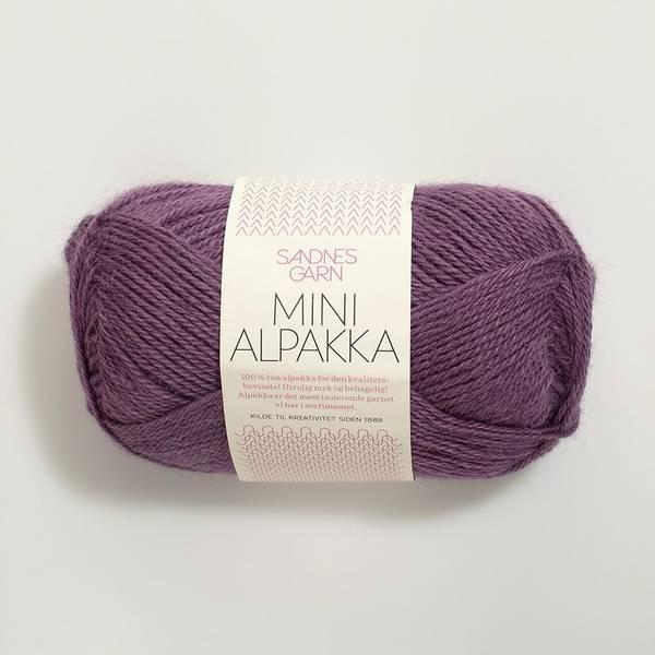 Bilde av Mini Alpakka - 4853 Lyng - Utgått farge