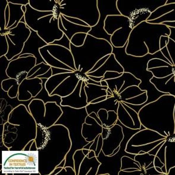 Bilde av Store Blomster gul - Avalana