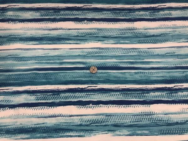 Bilde av Bølger - Viskosejersey