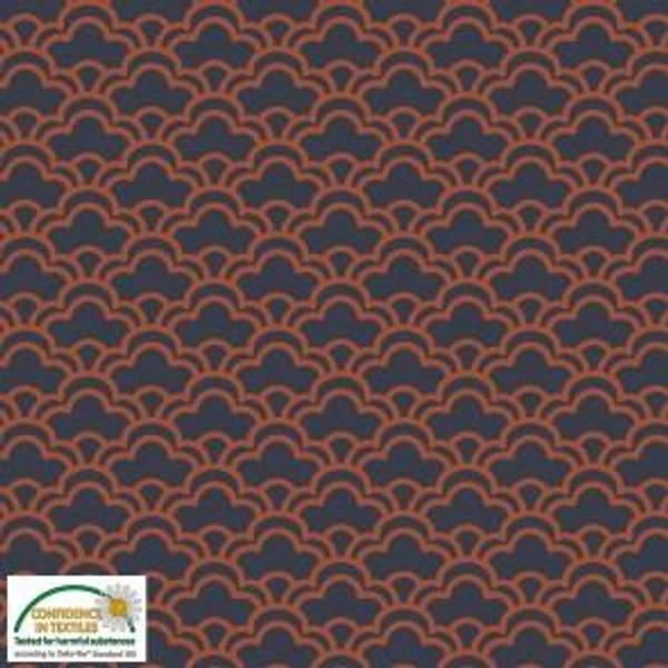 Bilde av Retro mønster,  Avalana - Vevd Viskose