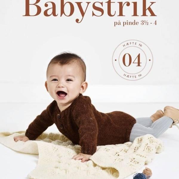 Bilde av Babystrikk På Pinne 3,5 - 4, Hefte Nr. 04