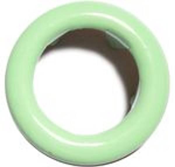 Bilde av Metall trykknapper med ring, 10 mm -  Mint