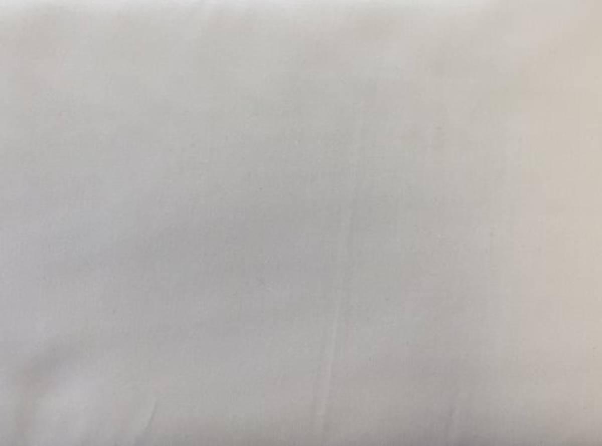 50 cm - Hvit - Fast bomull, Antibakteriell