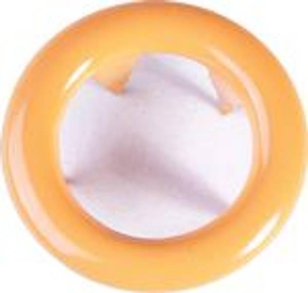 Bilde av Metall trykknapper med ring, 10 mm - Orange