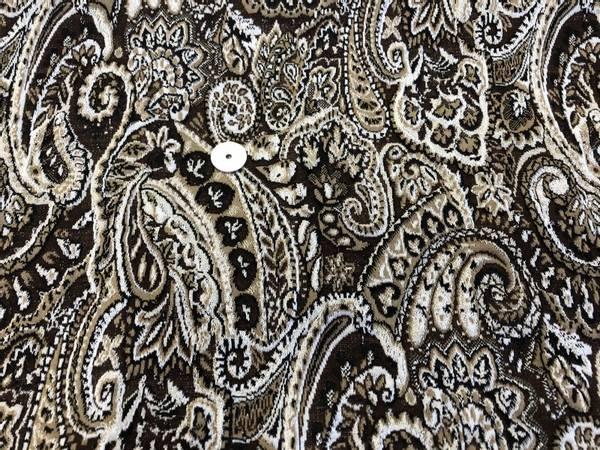 Bilde av Mønstret brun, beige og svart m/innvevet