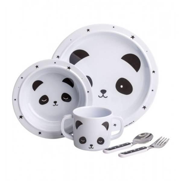Bilde av ALLC - Dinner sett, Panda