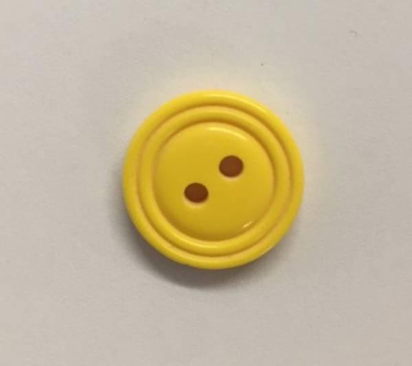 Bilde av Gul knapp - 1,5 cm