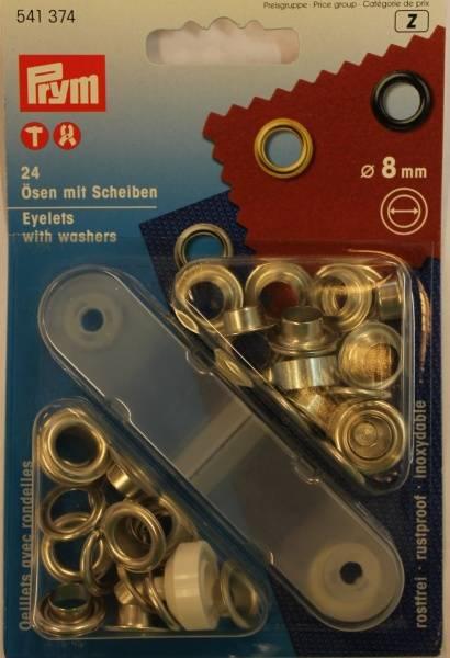 Bilde av Prym Maljer inkl. verktøy, 8 mm - Gull
