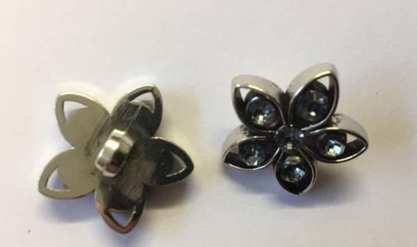 Bilde av Blomster knapp - 2 cm