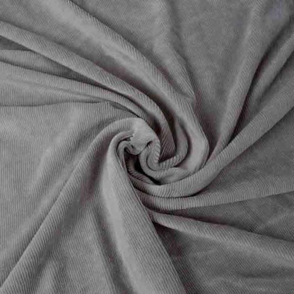 Bilde av Grey - Velour Cord, smal