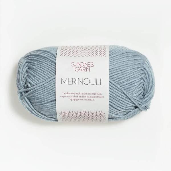 Bilde av Merinoull - 6531 Isblå - Utgått farge