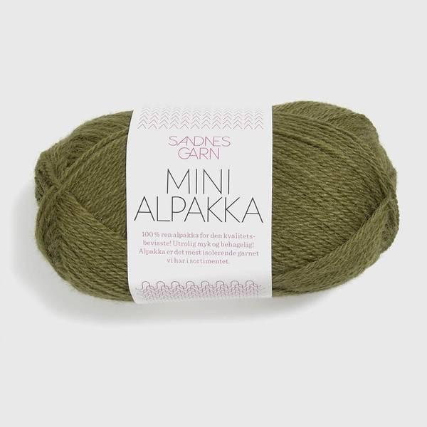 Bilde av Mini Alpakka - 9554 Olivengrønn