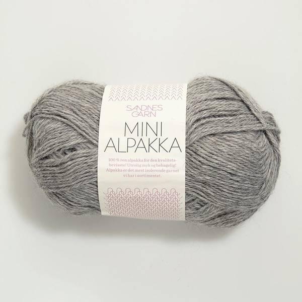 Bilde av Mini Alpakka - 1042 Gråmelert