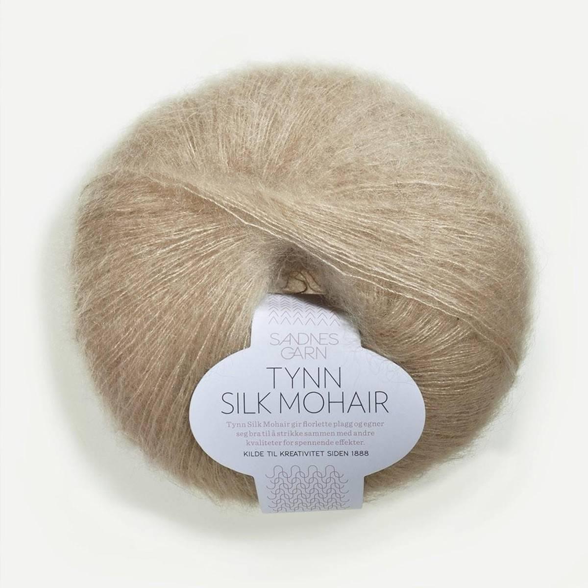 Tynn Silk Mohair - 3021 Lys Beige