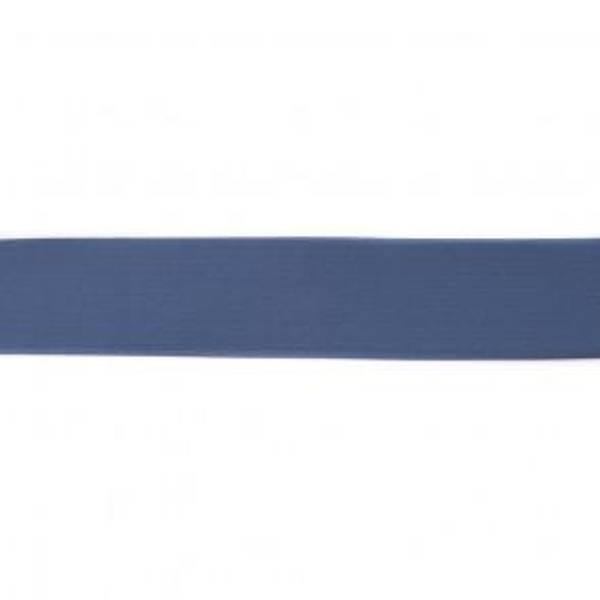 Bilde av Jeansblå - 4 cm bred strikk