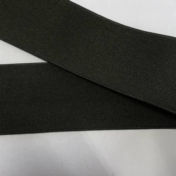 Bilde av Militærgrønn - 4 cm bred strikk