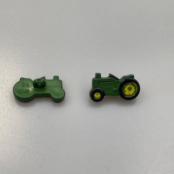 Bilde av Barneknapp med traktor - 25 mm