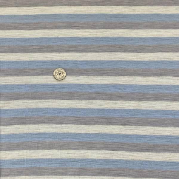 Bilde av Striper, Natur, grå og lyseblå - Ull