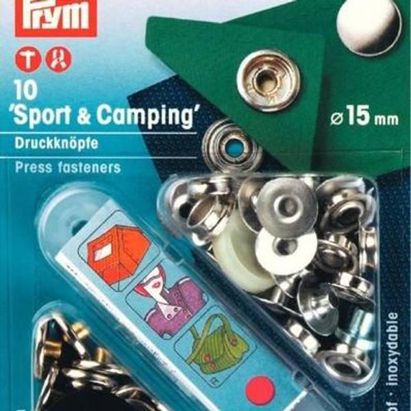 Bilde av Metall trykknapper m/verktøy, Sport & Camping 15