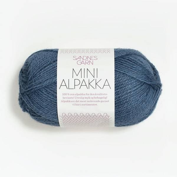 Bilde av Mini Alpakka - 6052 Jeansblå