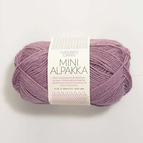Bilde av Mini Alpakka - 4622 Lys Lyng - Utgått farge