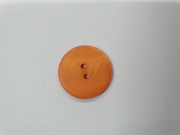 Bilde av Brent orange knapp - 2,3 cm