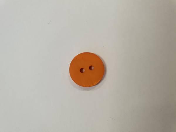Bilde av Brent orange knapp - 1,3 cm