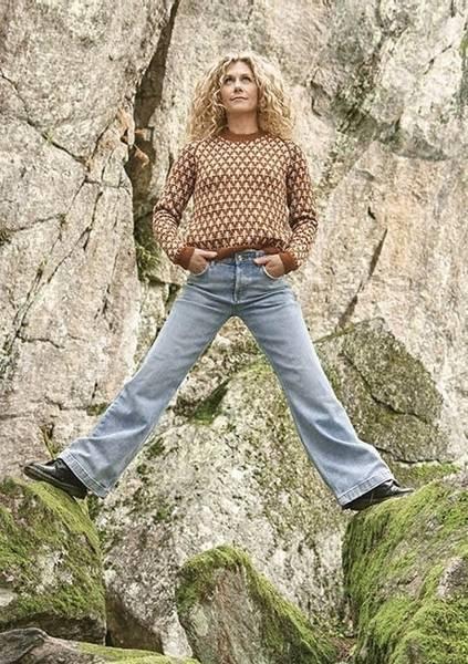 Bilde av Cecilie Skog #2-2 Trær - Genser til Dame