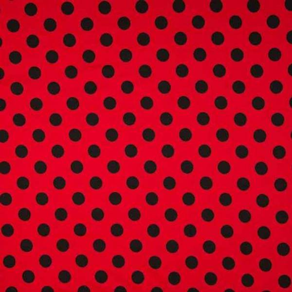 Bilde av Dots  Rød/svart