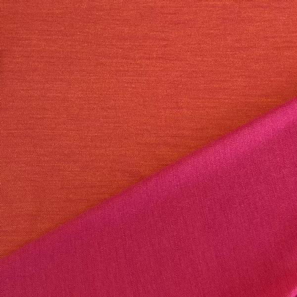 Bilde av Ull - Cerise og orange, Dobbelstrikket