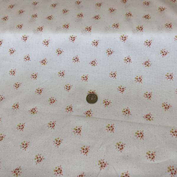 Bilde av Flowers, White - Fast Bomull