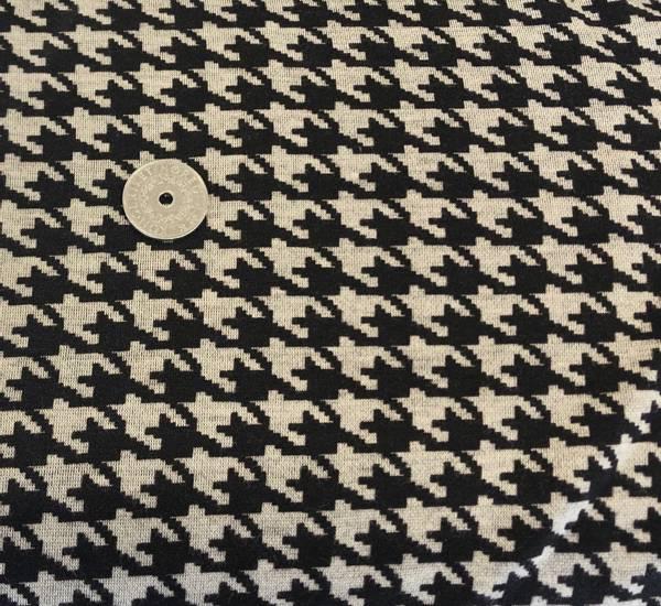 Bilde av Mønster beige/sort - Jacquard