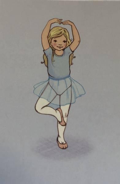 Bilde av Ballettjente