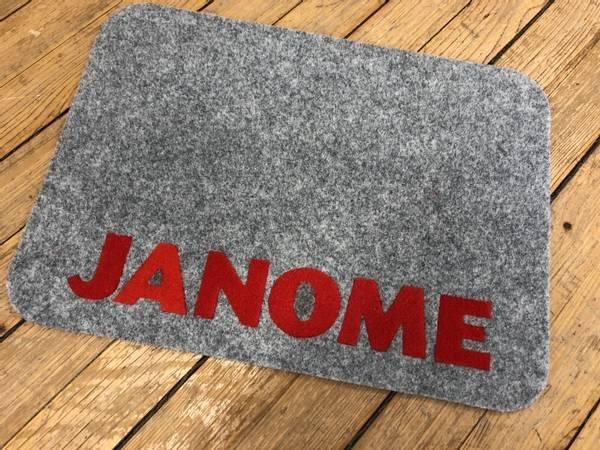Bilde av Matte med Janome Logo