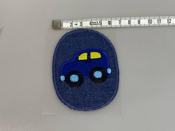 Bilde av Bil på jeans - Strykemerke