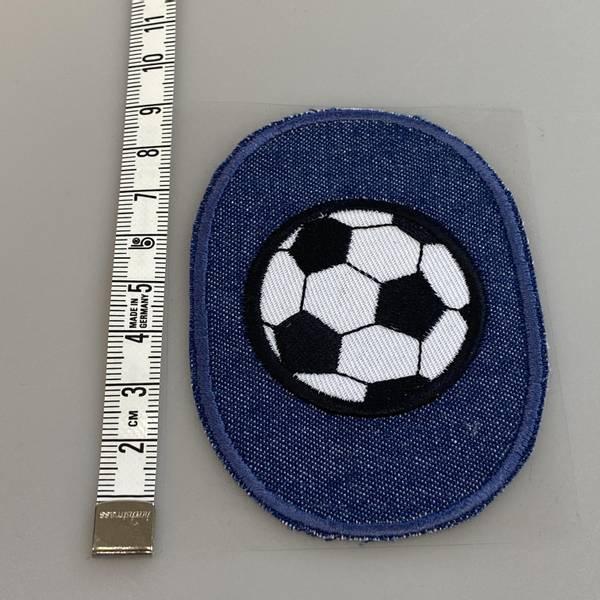 Bilde av Fotball på jeans - Strykemerke