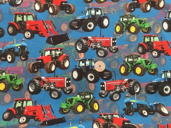 Bilde av Fargede traktorer