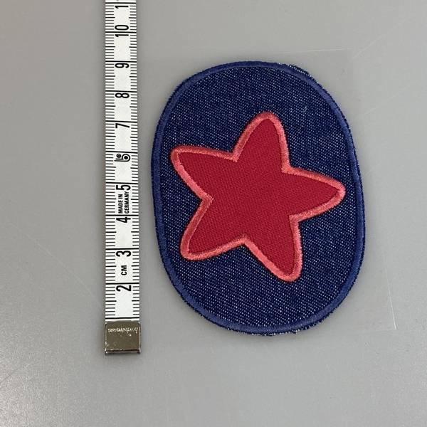 Bilde av Stjerne på jeans - Strykemerke
